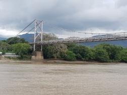 """The """"small' bridge crossing"""