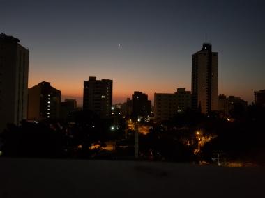 Sun Rise in Northern Barranquilla
